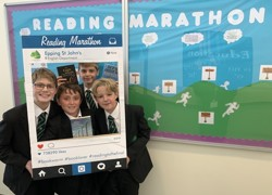 Young readers take on marathon challenge