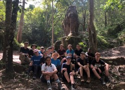 Month-long trip to Cambodia for teens