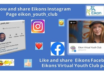 Eikon Virtual Youth Club Facebook Page