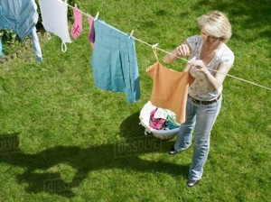 Hanging the washing example 2