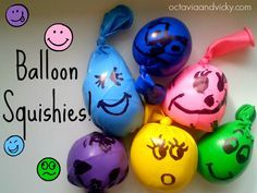 Sensory Balloon Squishies   Physical