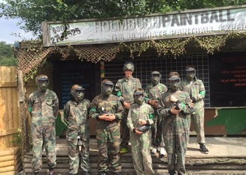 Year 10 Paintballing Trip