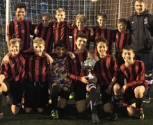 Year 7 Football Team cup win