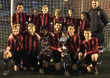 Year 7 Football Team Win District Cup Final