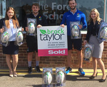 Brock Taylor Rugby Ball Donation