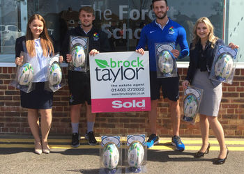 Generous Donation of Rugby Balls