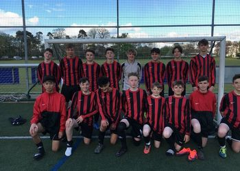 Year 9 Football Team Win District Cup Final