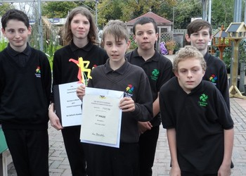 1st Place for Award Winning Gardening Team