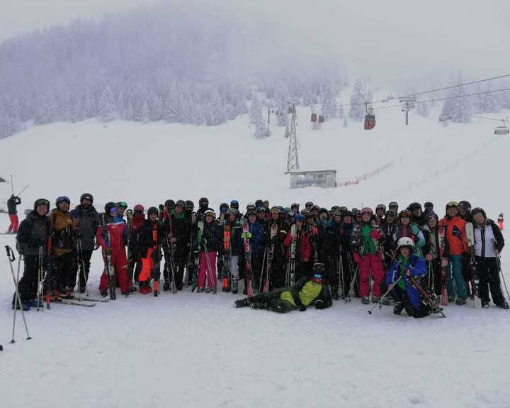 Ski trip teaches students more than sport