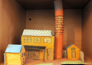 'Oliver Twist' Set Designs by Year 7
