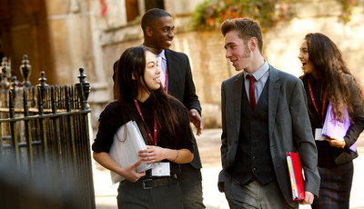 Westminster Sixth Form 'Outstanding'