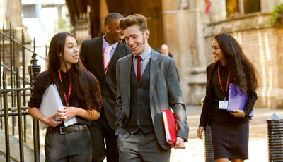'The students who made it to Oxbridge against the odds'