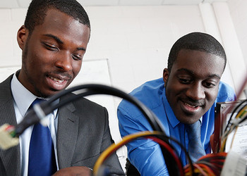 Apprenticeship opportunities for Harris students