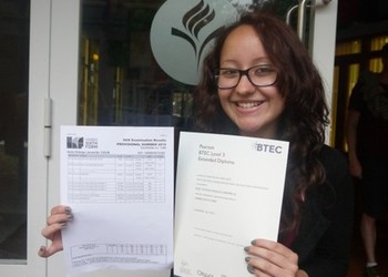 Sixth Form results 2015