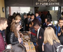 Sixth form cake sale