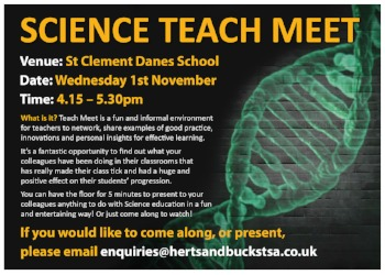 Science Teach Meet