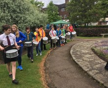 Samba at Scout Fair 2017