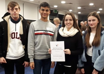 Early success for sixth form Young Enterprise team