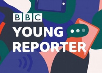 Year 7 are BBC Young Reporters for the day!