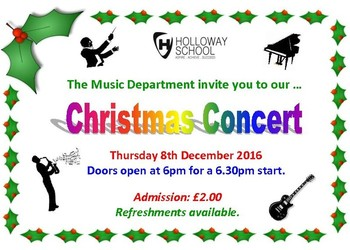 Christmas Concert 8th December