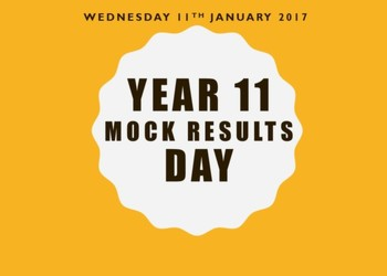 Year 11 Mock Results Day