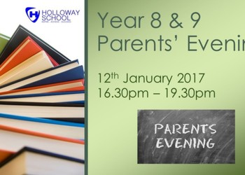 Year 8 & 9 Parents' Evening