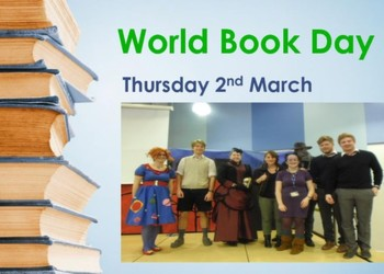 World Book Day : Thurs 2nd March