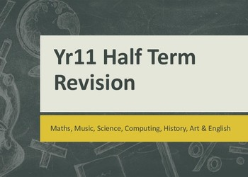 May Half-Term Revision