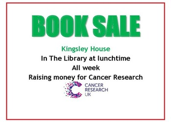 Kingsley House Book Sale