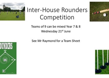 Irvin House Rounders Competition
