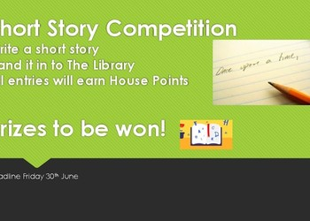 Kingsley House Short Story Competition