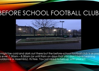 Before-School Football Club
