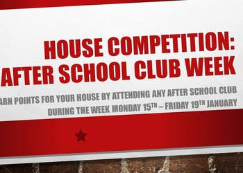 House Competition Week