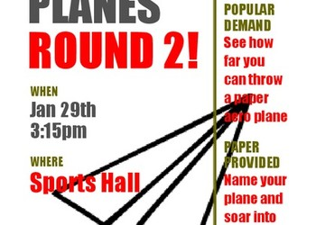 House Competition - Paper Planes!