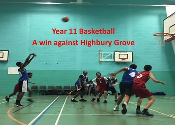 Year 11 Basketball Match