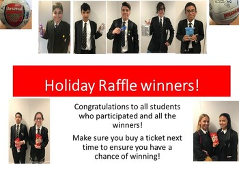 House Holiday Raffle Winners!