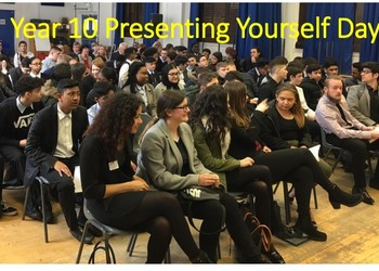 Year 10 Presenting Yourself Day 2018