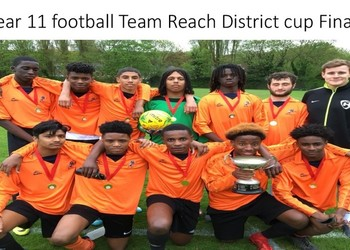 Year 11 football Team reach District Cup Final and WIN!