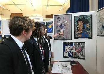 Year 11 GCSE Art and Design Exhibition 2018