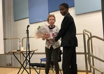 Holloway School welcomes survivor from the Holocaust Educational Trust