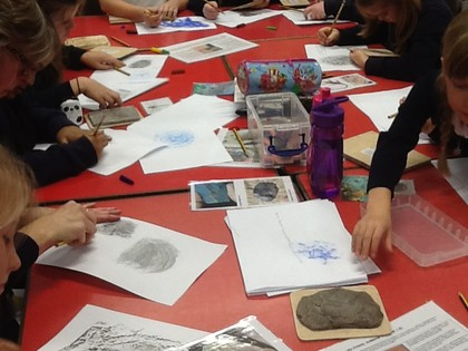 Year 4 Rocks and Fossils Museum Session