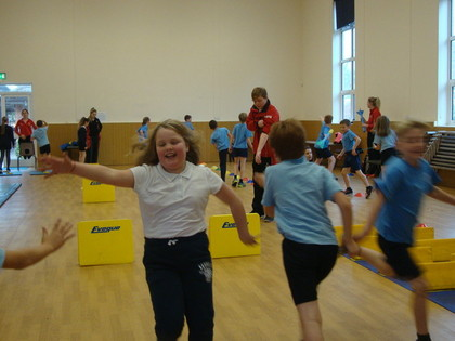 Year 5 Athletics session