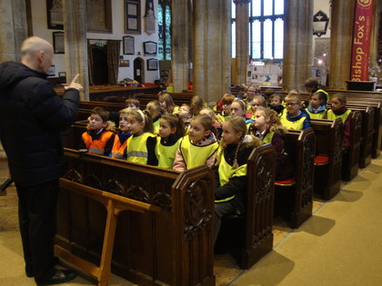 5S Trip to St Mary's Church