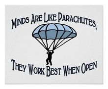 Minds are like parachutes poster r9a1a8e3f56904dbbb3d86ce89bdc9540 wv3 8byvr 512
