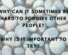 Who do you need to forgive