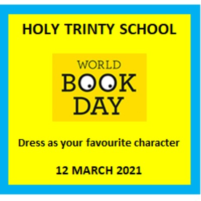 Friday 12th March Holy Trinity World Book Day