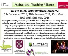 Train to teacher taster day 2