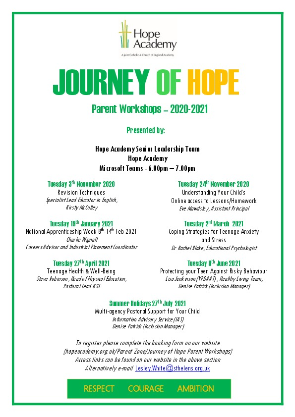 Journey of hope flyer 20 21