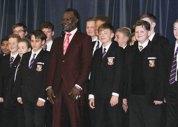 Levi Roots visits The Howard