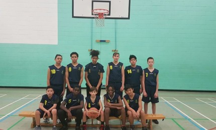 BASKETBALL - Kingsford Community School 43 - 18 Cumberland School